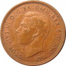 1938 Great Britain Half Penny