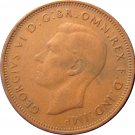 1944 Great Britain Half Penny