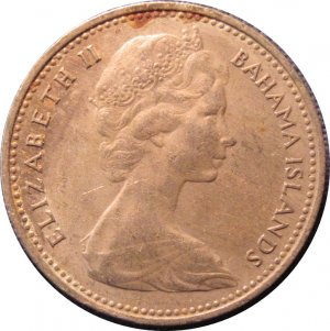 1966 Bahama 5 Cent