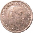 1959 Spain 10 Centimos