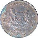 2000 Singapore 1 Cent