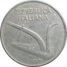 1952 Italy 10 Lire