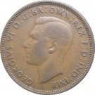 1945 Great Britain Half Penny