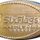 Six Flags Logo Elongated Cent