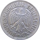 1956 D Germany 1 Duetsche Mark