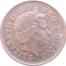 2000 Great Britain One Penny
