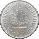 1971 D Germany 10 Pfennig