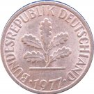 1977 D Germany 1 Pfennig