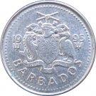 1995 Barbados 1 Cent #2