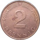 1981 D Germany 2 Pfennig