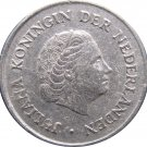 1960 Netherlands 25 Cents
