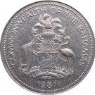 1981 Bahama 5 Cent 2