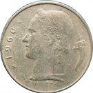 1960 Belguim 1 Franc
