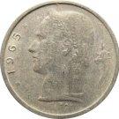 1965 Belguim 1 Franc
