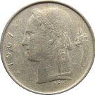 1967 Belguim 1 Franc