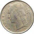 1970 Belguim 1 Franc
