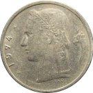 1974 Belguim 1 Franc