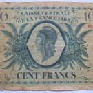 1941 France  100 Cent Note