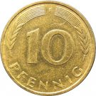 1982 F Germany 10 Pfennig