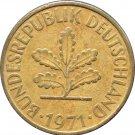 1971 J Germany 10 Pfennig