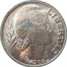 1946 Argentina 25 Centavo