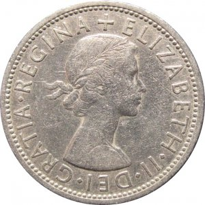 1966 Great Britain 2 Shilling