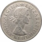 1966 Great Britain 1/2 Crown