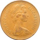 1971 Great Britain One Penny #2
