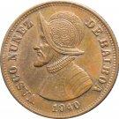1940 Panama 1 Centesimos #1