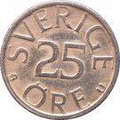 1980 Sweden 25 Ore