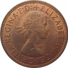 1963 Great Britain Half Penny
