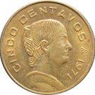 1971 Mexico 5 Centavos