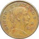 1969 Mexico 5 Centavos