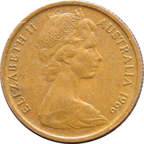 1966 Australia  1 Cent