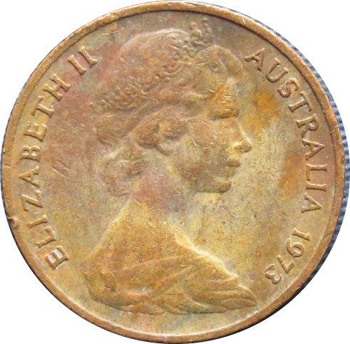 1973 Australia  1 Cent