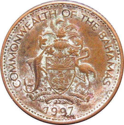 1997 Bahama 1 Cent