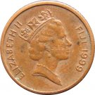1999 Fiji One Cent