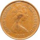 1972 Cayman Islands 1 Cent #2