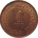 1984 Singapore 1 Cent