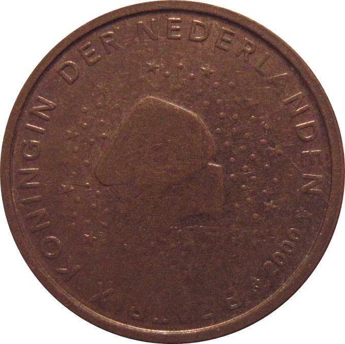 2000 Netherlands 2 Euro Cent
