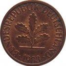 1983 D Germany 1 Pfennig