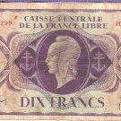 1941 France  Dix Francs (986.299)