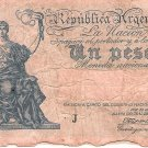Argentina 1 Peso ND 1935 P251 Ley 140.015.601