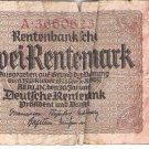 Germany 2 Rentenmark 623