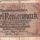 Germany 2 Rentenmark 896
