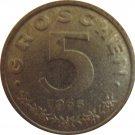 1965 Austria 5 Groschen
