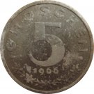 1966 Austria 5 Groschen