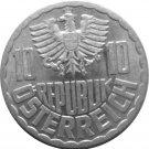 1957 Austria 10 Groschen