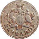 1973 Barbados 25 Cent