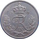 1957 Denmark 10 Ore